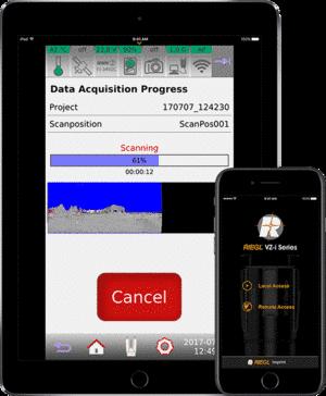RIEGL - VZ-i Series App
